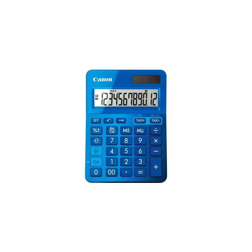 Calculator de birou albastru, 12 digits, CANON
