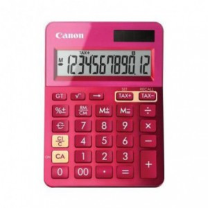 Calculator de birou violet, 12 digits, CANON