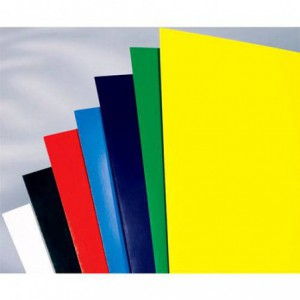 Coperti carton lucios A4, 250g/mp, albastru, ACM BRAND