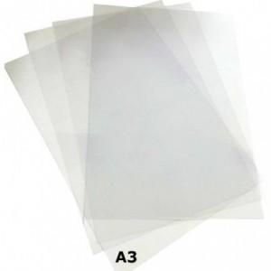 Coperti plastic transparent A3, 200 microni, , ACM BRAND
