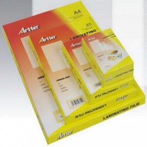 Folie de laminat A4, 250 microni, 100 buc/top lucios, ARTTER