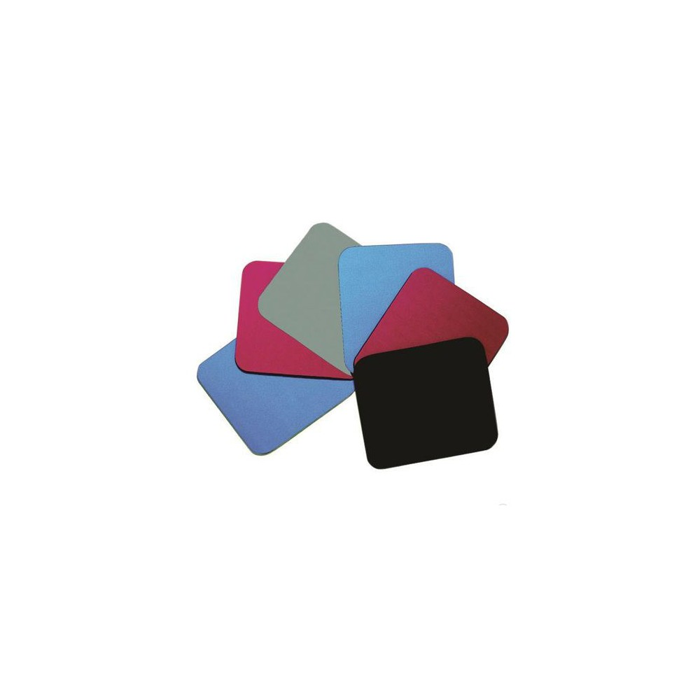 Mouse pad din poliester, rosu - Fellowes FE29701