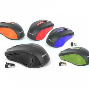 Mouse Optic Omega OM-419 portocaliu, wireless OM0419O