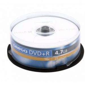 DVD-R OMEGA  OMD1625+, 16x, 4.7 GB OMD1625+