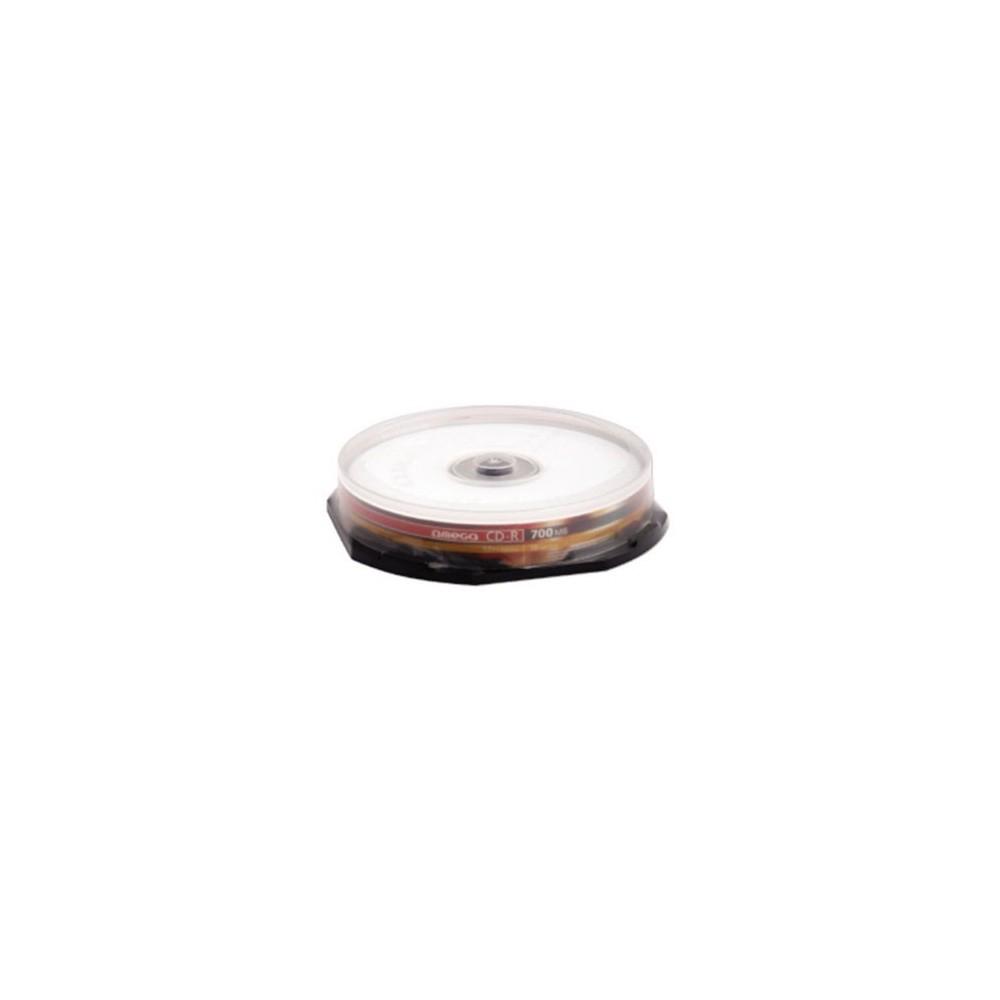 CD-R OMEGA OM10, 52x, 700mb, 10 buc/bulk OM10
