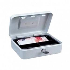 Caseta metalica pentru bani cu incuietoare si 2 chei, 300x240x90mm ACOMI.ro