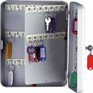 Cutie metalica pentru 90 de chei, 300x240x80 mm ACOMI.ro
