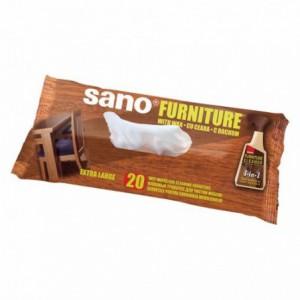 Servetele umede pentru mobila SANO Furniture, 20 buc ACOMI.ro