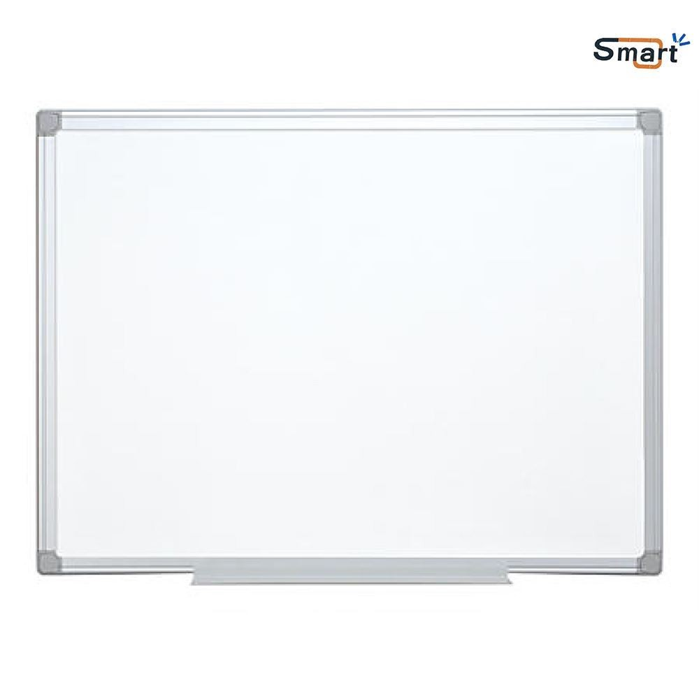 Tabla magnetica alba 100x150 cm, rama de aluminiu - SMART