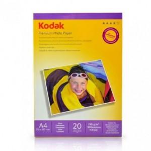 Hartie FOTO KODAK Glossy 230g A4, 20 coli