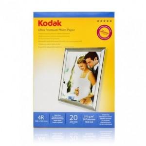Hartie FOTO KODAK RC Ultra Premium Glossy 270g 10x15, 20 coli