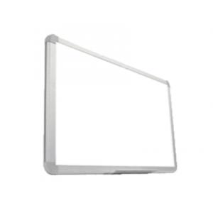 Tabla magnetica alba 90x120 cm, rama de aluminiu - SMART