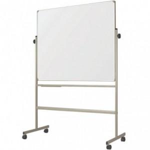 Tabla magnetica mobila, 2 suprafete, rotativa, 90 x 120 cm SMART - ACOMI.ro