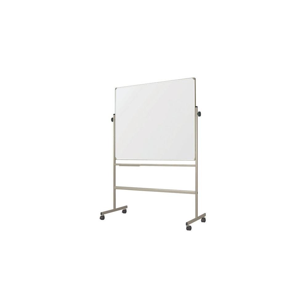 Tabla magnetica mobila, 2 suprafete, rotativa, 100 x 200 cm SMART - ACOMI.ro