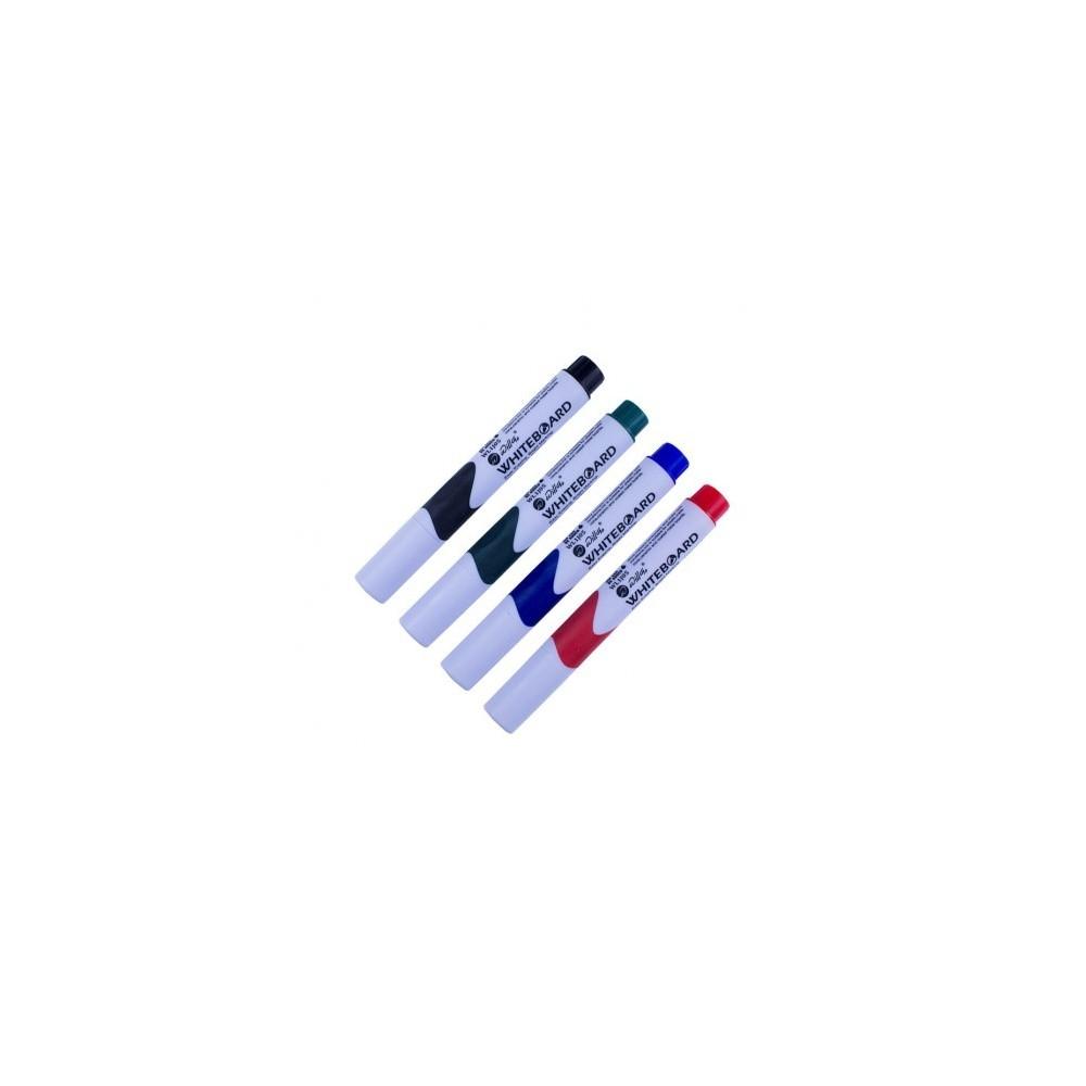 Whiteboard marker cu grip, rosu - Willgo - ACOMI.ro