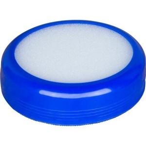 Buretiera plastic diam. 84 mm, albastru, Willgo - ACOMI.ro