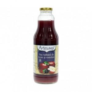Artesana suc natural de mere si coacaze 1 l - ACOMI.ro