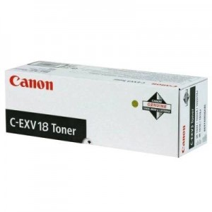 Toner negru CANON C-EXV18 - ACOMI.ro