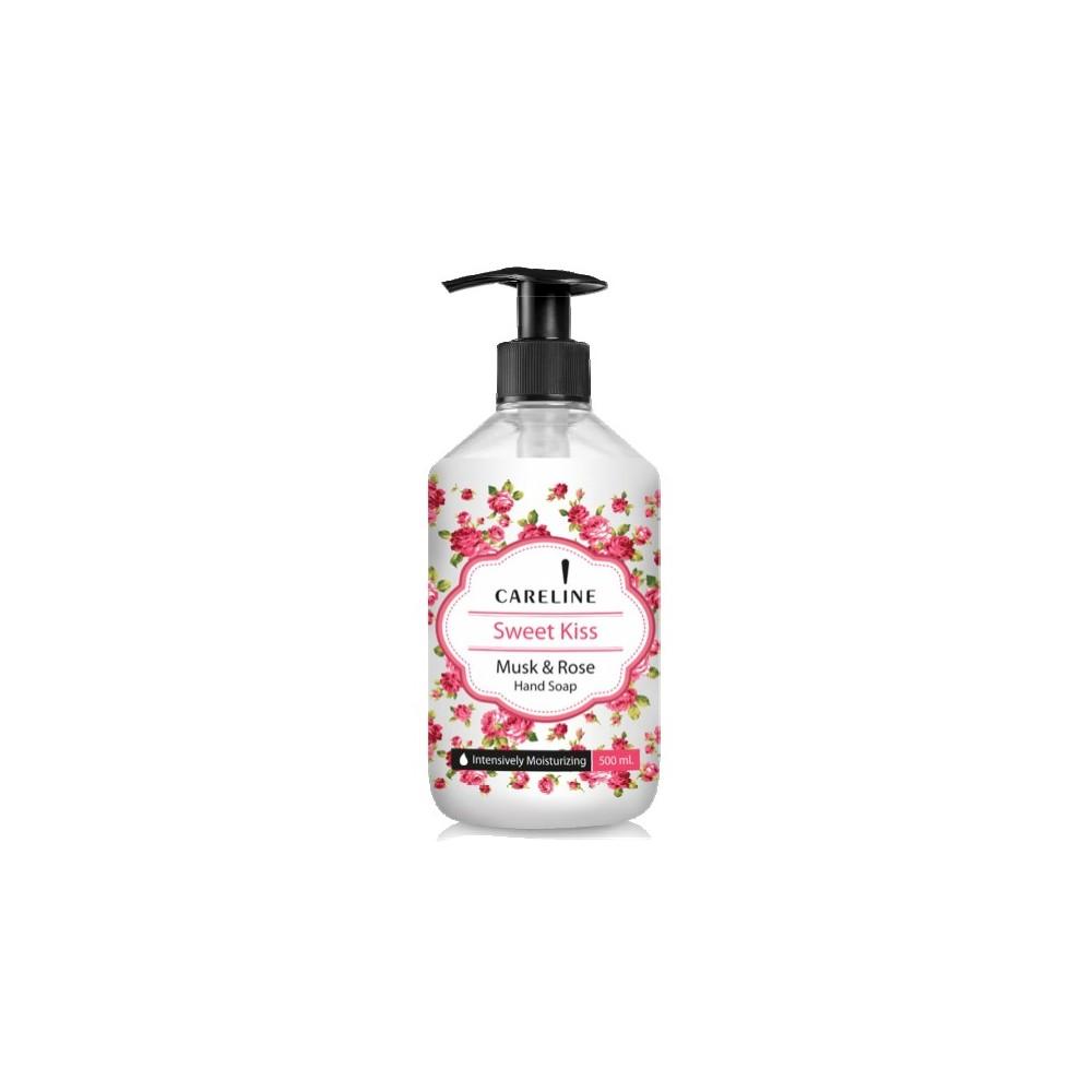 Sapun lichid, 500ml, Careline Sweet Kiss - Mosc & Trandafiri