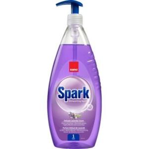 Detergent igienizant de vase, cu pompita, SANO SPARK LAVANDA 1000ml - ACOMI.ro