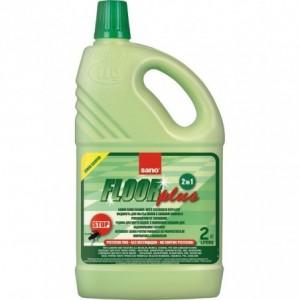 Detergent pentru orice tip de pardoseli, SANO FLOOR PLUS  2L - ACOMI.ro