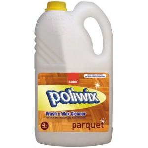 Detergent pentru parchet, SANO POLIWIX PARQUET 4L - ACOMI.ro