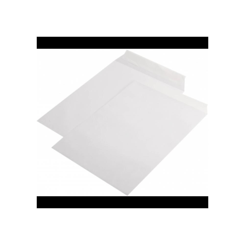 Plic B4 (250x353mm) siliconic alb, unitar, RKV - ACOMI.ro