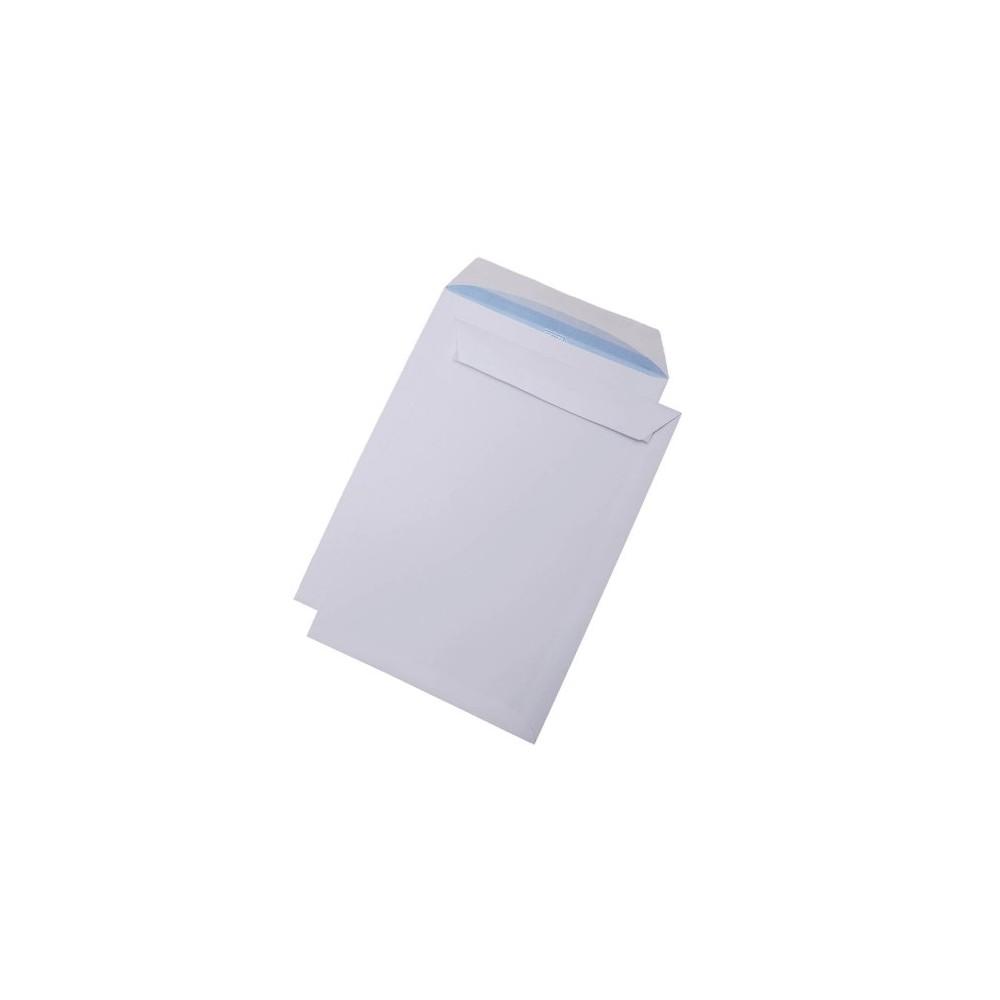 Plic B5 (176x250mm) siliconic alb, unitar, RKV - ACOMI.ro