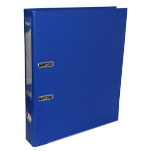 Biblioraft plastifiat de 5.0 cm, albastru, A4, NOKI - ACOMI.ro