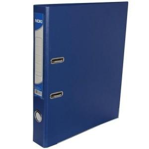 Biblioraft plastifiat de 5.0 cm, bleumarin, A4, NOKI - ACOMI.ro