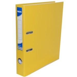 Biblioraft plastifiat de 5.0 cm, galben, A4, NOKI - ACOMI.ro