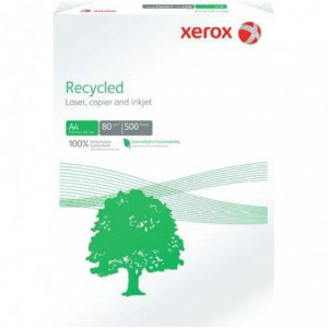 Hartie A4, 80g/mp, 500 coli/top, XEROX Recycled