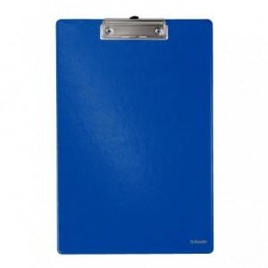 Clipboard simplu A4 albastru, plastifiat PVC, ESSELTE Standard · ACOMI.ro