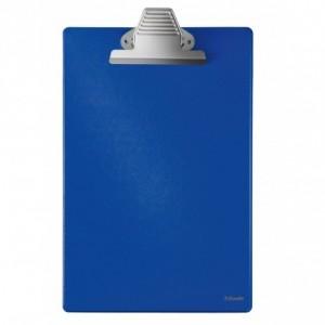 Clipboard simplu A4 albastru, plastifiat PVC, ESSELTE MAXI · ACOMI.ro