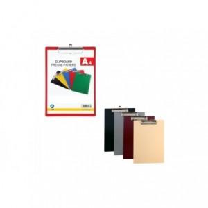 Clipboard A4, plastic rigid, ARK - rosu · ACOMI.ro