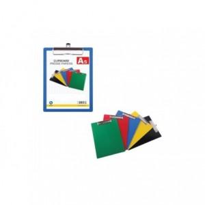 Clipboard A5, plastic rigid, ARK - albastru · ACOMI.ro