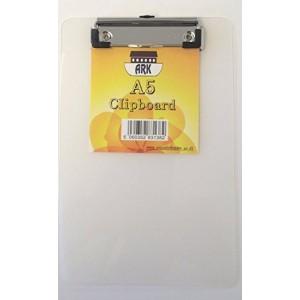 Clipboard A5, plastic rigid, ARK - negru · ACOMI.ro