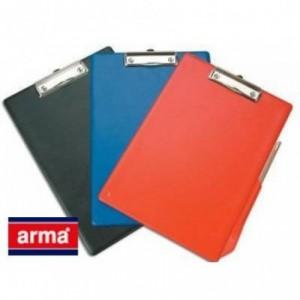 Clipboard dublu A4 plastifiat, negru - arma · ACOMI.ro