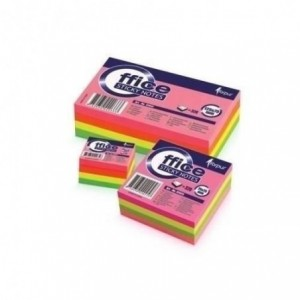 Notes adeziv 50x40mm cub neon 320 coli FORPUS - ACOMI.ro