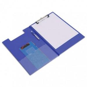 Clipboard dublu RAPESCO A4, albastru· ACOMI.ro