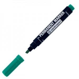 Marker permanent tesit 1-4.6 mm, verde - CENTROPEN · ACOMI.ro