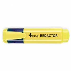 Textmarker 2-5mm, galben, FORPUS REDACTOR · ACOMI.ro