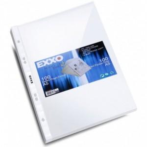Folie protectie A5 transparenta, 40 microni, 100/set, EXXO - ACOMI.ro