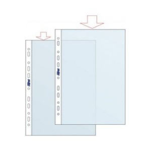 Folie protectie A4 transparent, 30 mic. 100/set, FORPUS ECO - ACOMI.ro