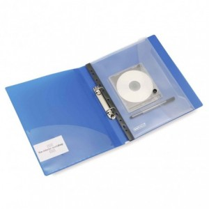 Folie protectie cu buton si suport cd, ranforsare speciala, RAPESCO - ACOMI.ro