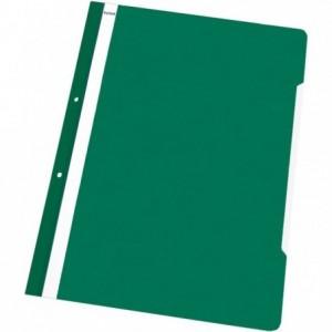 Dosar plastic cu sina, multiperforat, verde-deschis, NOKI · ACOMI.ro