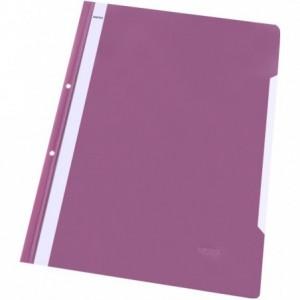 Dosar plastic cu sina, multiperforat, purpuriu, NOKI · ACOMI.ro