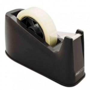 Dispenser banda adeziva 25mm, negru, RAPESCO 500 · ACOMI.ro