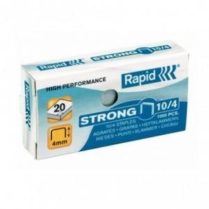 Capse 10/4 RAPID Strong, 1000 buc/cutie