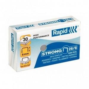 Capse 26/6 RAPID Strong, 1000 buc/cutie